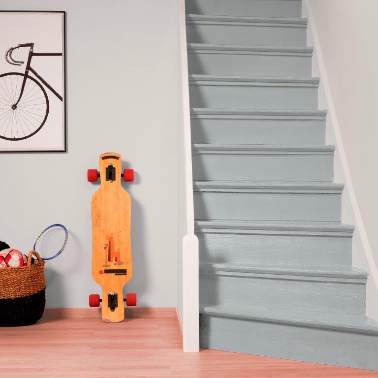 Dulux Szybka Odnowa podłogi i schody - szary skalisty
