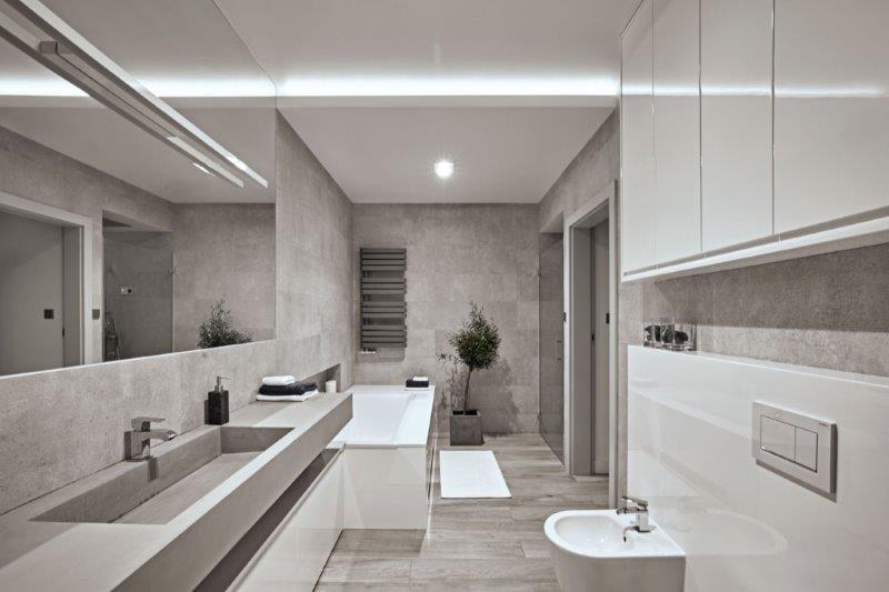 Łazienka projekt Kaza Interior Design