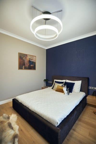 Sypialnia projekt Kaza Interior Design