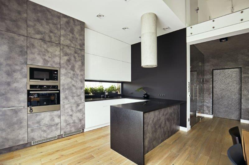 Kuchnia - projekt Kaza Interior Design