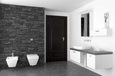 Czarno biała łazienka w mieszkaniu – jak aranżować?