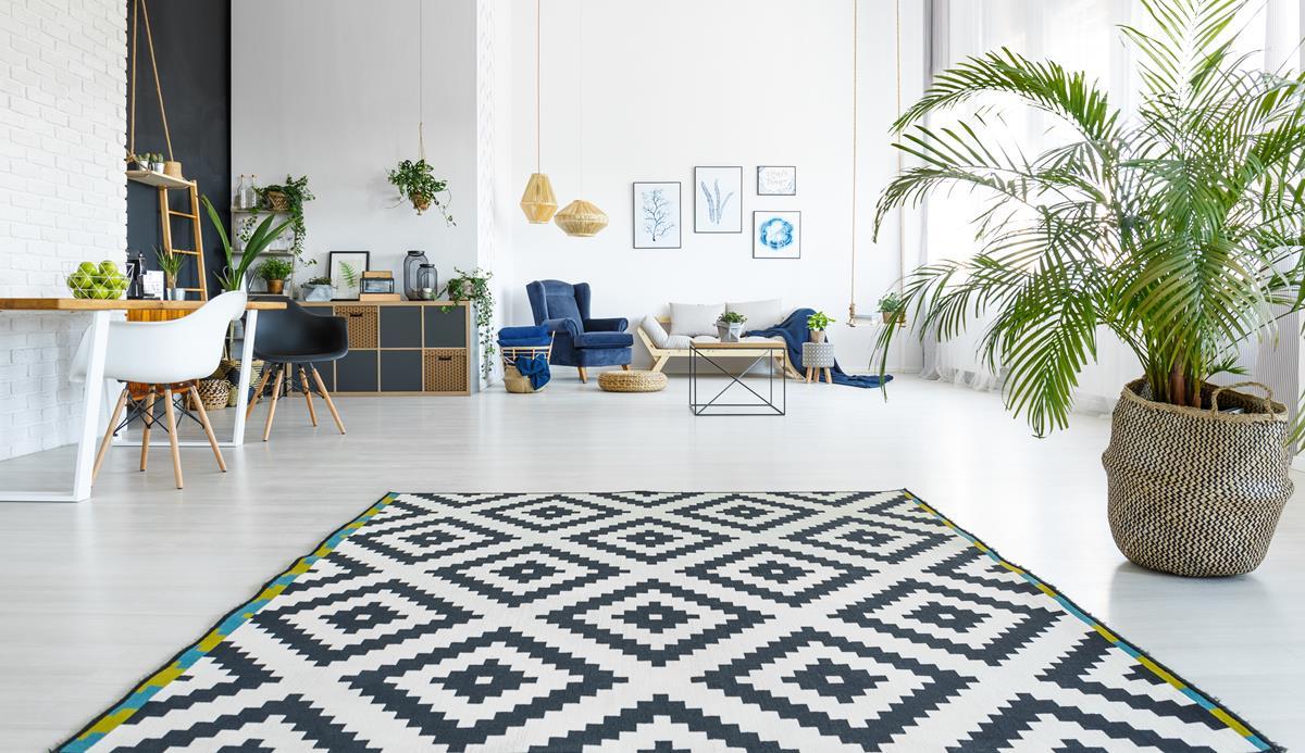Wybór dywanu do mieszkania