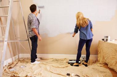 Obliczanie powierzchni ścian przed malowaniem