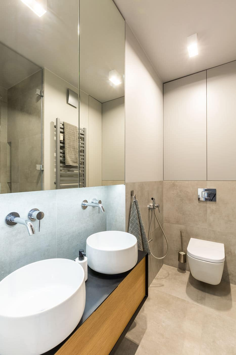 Ładna łazienka w bloku
