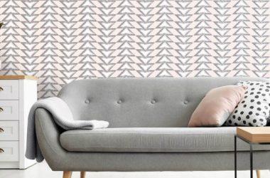 Tapety w geometryczne wzory – charakter nowoczesnych wnętrz