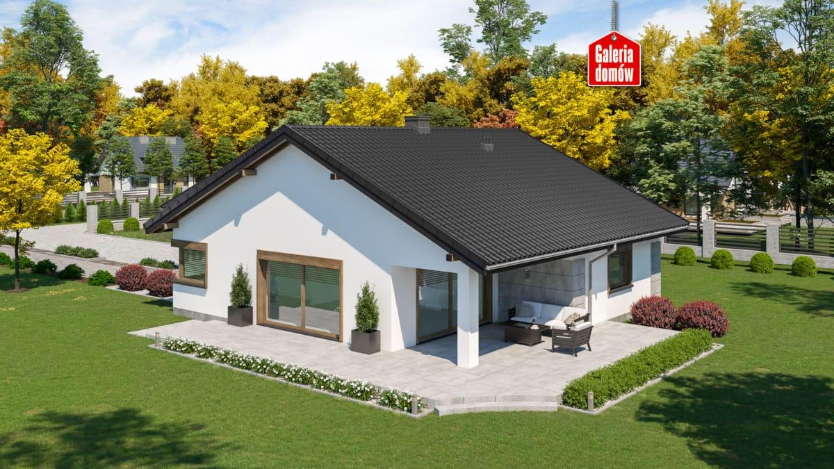 Dom przy Pastelowej 20 - www.galeriadomow.pl