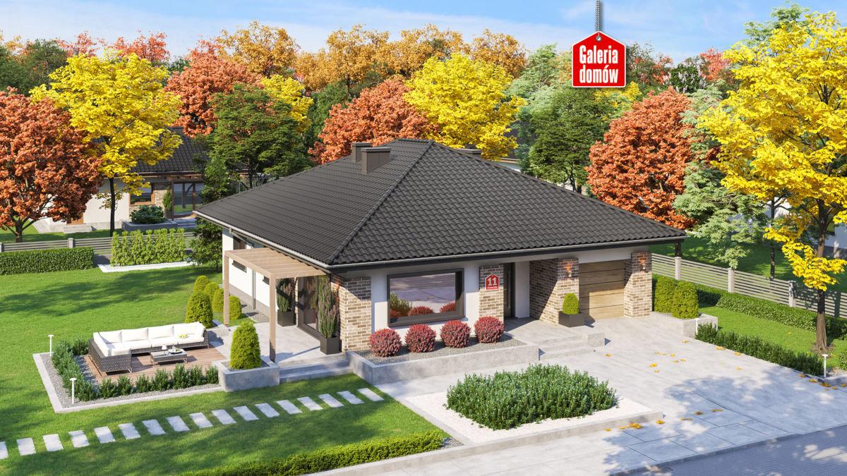 Dom przy Słonecznej 11 - www.galeriadomow.pl