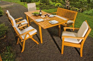 Czy drewniane meble ogrodowe to wciąż nieprzemijająca siła klasyki?