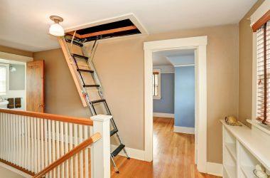 Rodzaje schodów strychowych