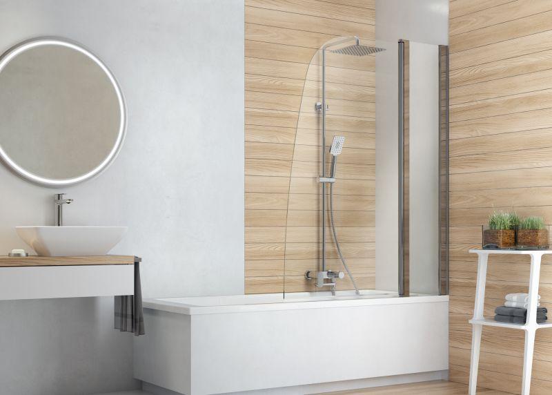 jasne drewno w łazience