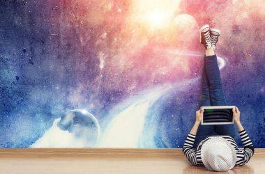 Fototapety z motywem kosmosu – nie tylko dla najmłodszych