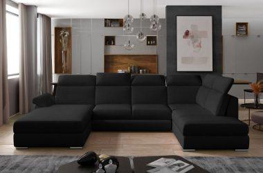 Jaki narożnik do dużego salonu powinniście wybrać? Duży, modny, wielofunkcyjny i…